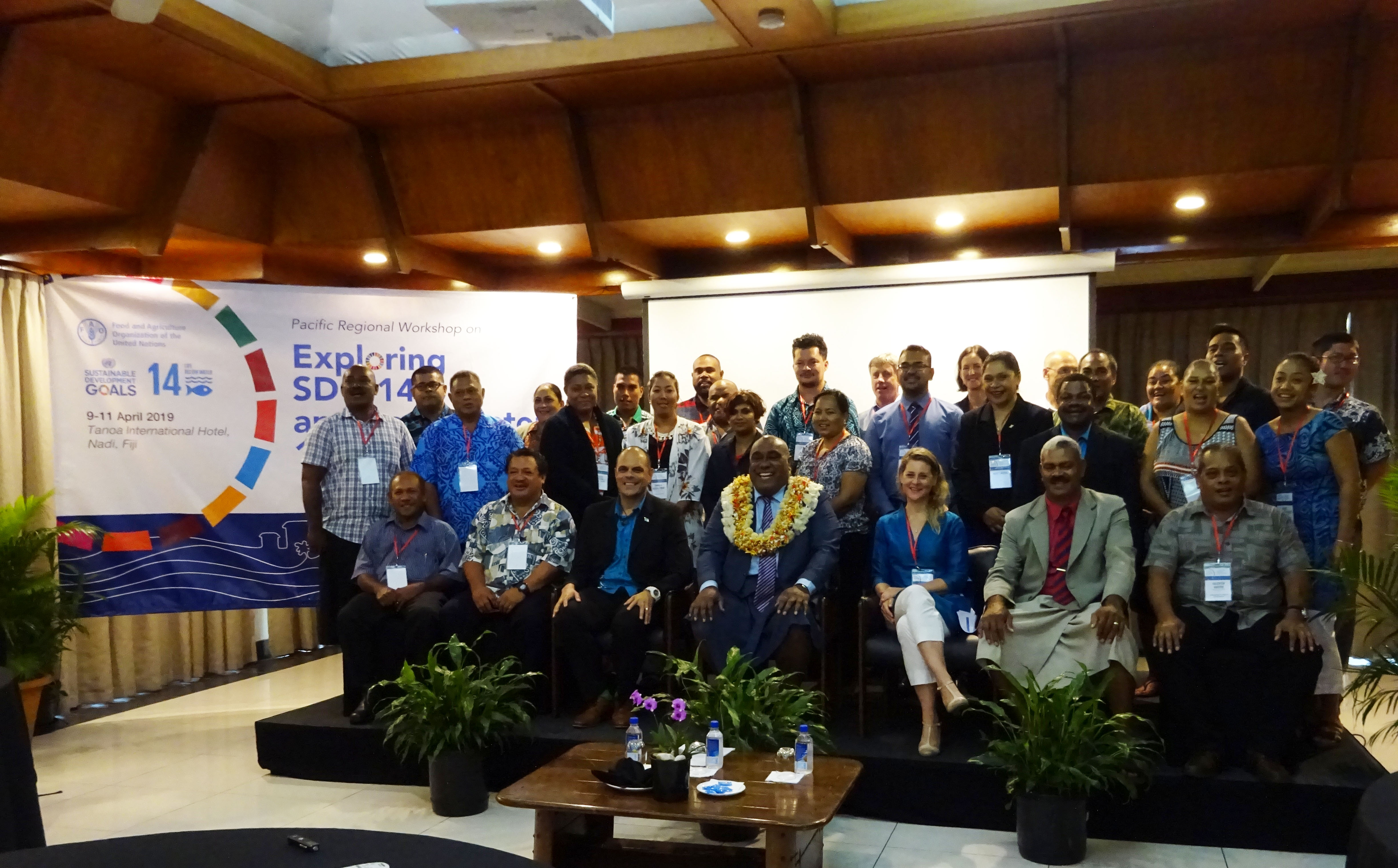 FAO PACIFIC REGIONAL WORKSHOP ON EXPLORING SDG 14.B AND ITS INDICATOR 14.B.1