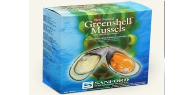 Frozen boiled mussels half shell import, up 7% from the previous year