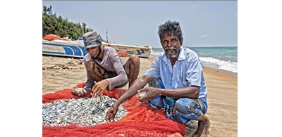 Small-scale fishermen in Sri Lanka increasingly threatened by the Covid pandemic