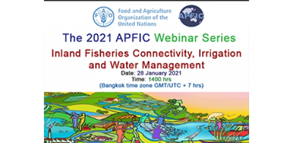 Registration open for first APFIC fisheries webinar
